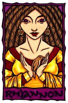 Rhiannon, Welsh Horse and Earth Goddess