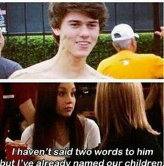 John Luke...wow pretty much mine and Lauren's whole life summed up into one sentence. @Lauren Davison Engelhardt