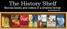 Super excited to check more into this resource!! The History Shelf - a timeline of historical fiction, books and movies