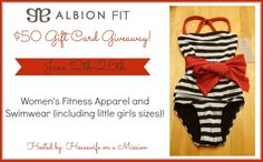 Housewife on a Mission: Kids Swimsuits from Albion Fit Review & Giveaway {...
