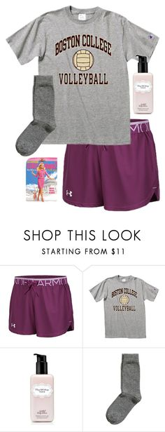 """""""Watching Legally Blonde 2"""" by southernprep52 ❤ liked on Polyvore featuring Under Armour, Victoria's Secret and H&M"""