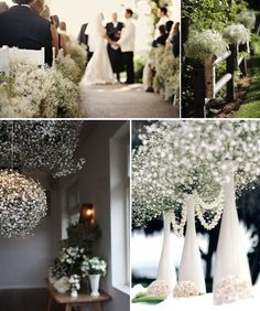 just in case you missed it....love the baby's breath balls hanging from the ceiling...would smell lovely