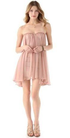 @Blaque Label @Shopbop . #nude #sweetheart #mini #chiffon #dress. #corset #bodice. http://zodiacfashion.blogspot.com/