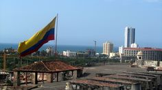 Colombian Flag (Cartagena, Colombia 2012).