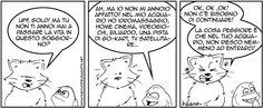 """Voglio anche io un acquario così !!!   Striscia presa da """"Gold Fish e Silver Cat"""" by Kaneda"""