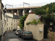 Meudon, viaduct made famous by Kertesz (Willy Baumeister), France