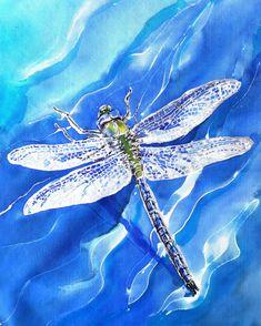 Art print from my Silk Painting on a weatherproof aluminium panel x , Blue and Aqua sea by KiwiSilks on Etsy Outdoor Wall Art, Outdoor Walls, Dragonfly Art, Silver Wings, Aqua, Panel Wall Art, Bathroom Art, Silk Painting, Bird Art