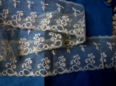 Mechlin bobbin lace, prob early 19th c