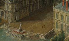 View of the Château de Fontainebleau, - Pierre-Denis Martin Louis Xiv, Painting, Art, Art Background, Painting Art, Kunst, Paintings, Performing Arts, Painted Canvas