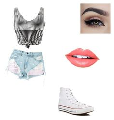 """Untitled #59"" by emilyvance-2312 on Polyvore featuring Alexander Wang, Converse and Fiebiger"