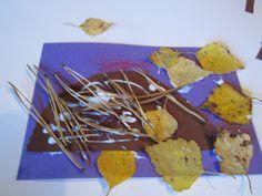 Syksyllä kerätään luonnosta askartelutarvikkeita