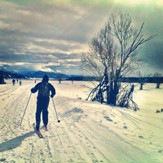 Mountain Living: Cross Country Skiing in Grand Teton National Park Grand Teton National Park, National Parks, Xc Ski, Nordic Skiing, Go Ride, Mountain Living, Cross Country Skiing, John Muir, Outdoor Life