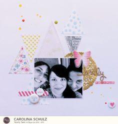 Caroli Schulz Scrapbooking: Clique Kits - Proyectos Noviembre Homecoming