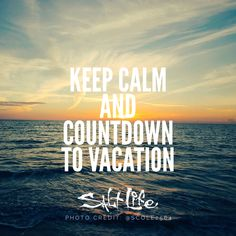 66 days til Colorado and 184 days til Hawaii!!