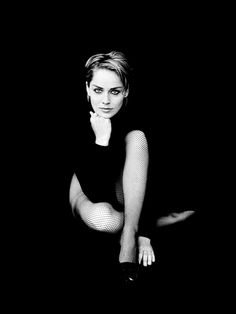 Sharon Stone | by Peter Lindbergh