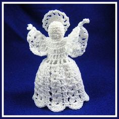 Christmas angel crochet pattern
