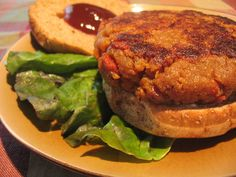 Vegan Western Bacon Cheeseburger