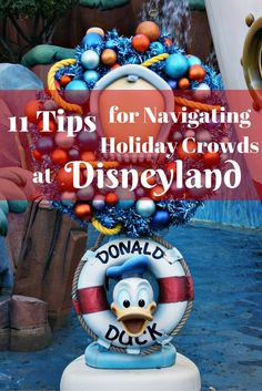 Navigating holiday crowds at Disneyland can be a challenge. Here are my 11 top tips for dealing with holiday crowds at Disneyland this year! Disneyland Secrets, Disneyland Photos, Disneyland Vacation, Disneyland California, Disney Vacations, Disneyland October, California Attractions, Mexico Vacation, Family Vacations