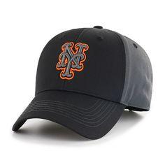 New York Mets MLB Blackball Cap Fan Favorite, Grey