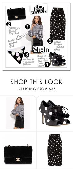 """#85"" by gpramasita ❤ liked on Polyvore featuring Dolce&Gabbana, Chanel, Andrea Marques and Kat Von D"