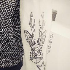 ➕ Artist : Nouvelle Rita ➕ Check our Tattoo social network :  www.sorrymummy.com  #tattoo #tattooedlife #tatuajes #tattooist #tattoolife #tattooedboy #tattooartist #inked #picoftheday #studio #tatouage #boywithtattoos #gallery #tat #blackwork #sorrymummytattoo #amazing #rabbit #geometrytattoo #tattoos #tattoolife