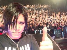 the GazettE Aoi in NY