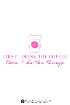 The only logical way to do things!    girl probs, girl problems, LOL, funny, for women only, quotes for women, laugh out loud, quotes to live by, coffee lover, wise words #gritandgracelife