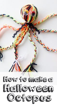 How to make a Halloween Octopus