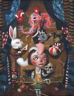 Mark Brown. Mark Brown, Surreal Artwork, Brown Art, Lowbrow Art, Creepy Cute, Pop Surrealism, Graphic Design Illustration, E Design, Macabre