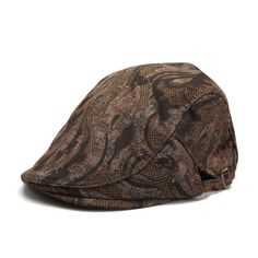Fasbys Classic Retro Fashion Men Cotton Berets Spring Summer Autumn Sun Hats Unisex Vintage Brown Casual Caps Deportes Casquette