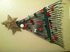Redneck Christmas tree recycled creation by Rubbish Rampage~
