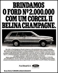Anúncio Ford Corcel II Belina - 1978