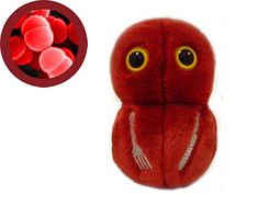 Flesh Eating Disease plushie. Aw... who's gonna eat my flesh? You are, you little cutie!