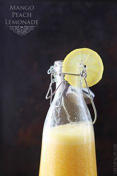 Mango Peach Lemonade - Creme De La Crumb