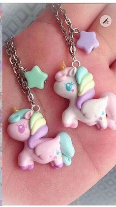 Unicorn clay