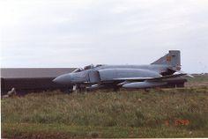 003 Gate Guard at RAF Stornaway Phantom XV422