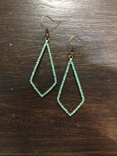 Turquoise Earrings from Garnishes Boutique in Leavenworth, WA