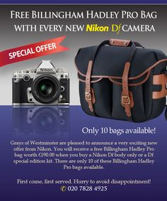 Grays of Westminster News – The Nikon D750 + Special Offer