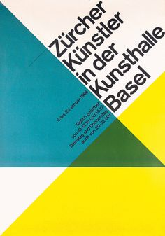 Josef Müller-Brockmann shaped the visual communication of Switzerland since the 1950s. He proved with his designs, that an objective, formally reduced language meets the requirements of a universal, timeless message best.