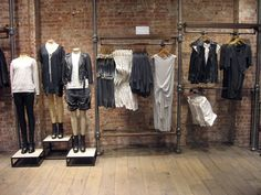 NYC Soho Store // Spring 2013 A fantastic SS collection, loving all the greys and loose lines!