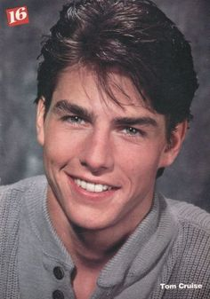 Had this picture pinned to my wall.-Tom Cruise