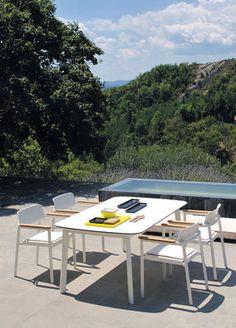 Table Shine / Plateau HPL - 166 x 100 cm - Emu