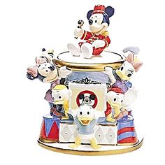 Disney Mickey Mouse Club Cookie Jar (Disneyana) at Grandma's Basement