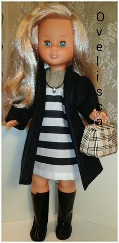 Muñeca Nancy casual por la ciudad