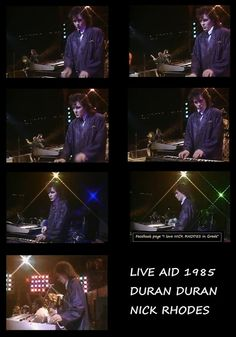 Nick Rhodes..this is the moment I, Renee, fell in love.... *sigh*