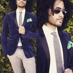 Lovin life, lovin fashion...happy to be alive. Burberry Blazer Alexander McQueen Shirt Steve Alan tie Louis Vuitton belt