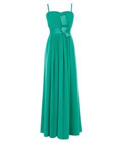 Bodenlanger Traum aus Türkis #fashion #festive #dresscode