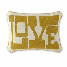 Happy Chic by Jonathan Adler Love Decorative Pillow - jcpenney