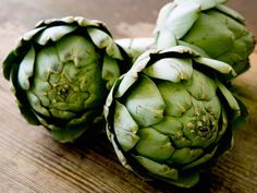 Artichokes - packed with a compound called cynarin, a substance that naturally reduces cholesterol