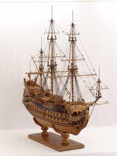 Ship model French SOLEIL ROYAL